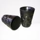 Dubbe Espressotasse aus Keramik schwarz