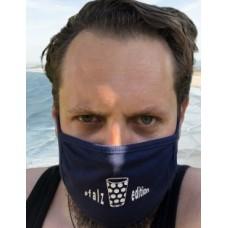 Dubbeglas Maske Mund Nasen Bedeckung navy unisex