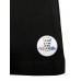 T-Shirt in schwarz V-Ausschnitt Dubbeglas Rosegold