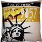 Kissenhülle New York USA Sofakissen